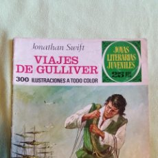 Tebeos: JOYAS LITERARIAS JUVENILES 25PTS - VIAJES DE GULLIVER, JONATHAN SWIFT, N. 105, 2A EDICIÓN, 1977. Lote 46772574