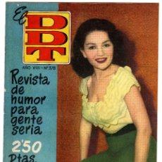 Tebeos: DDT. Nº 378. AÑO VIII. 1958.. Lote 46957749