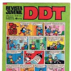 Tebeos: DDT. Nº 252. AÑO XXI. III EPOCA. 1972.. Lote 46957895
