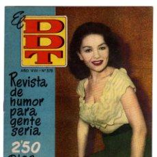 Tebeos: DDT. Nº 378. AÑO VIII. 1958.. Lote 46958547
