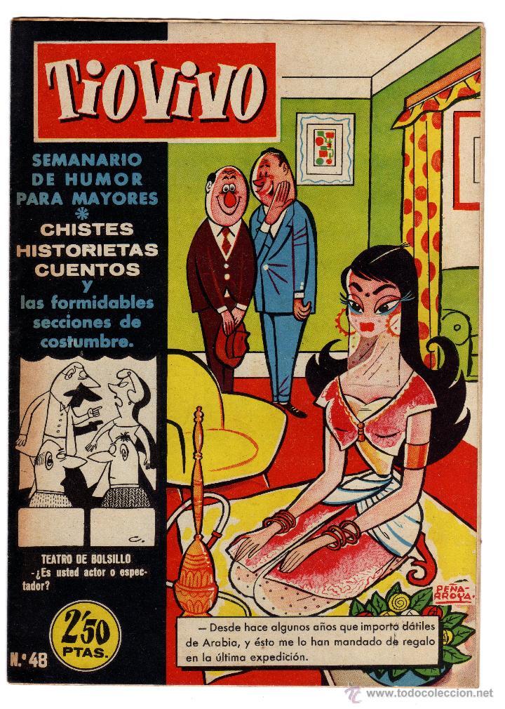 TIO VIVO. Nº 48. AÑO II. 1958. (Tebeos y Comics - Bruguera - Tio Vivo)
