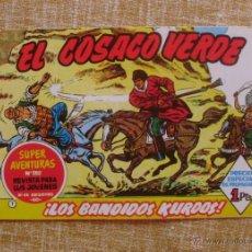 Tebeos: EL COSACO VERDE, SUPER AVENTURAS, NÚMERO 282, ¡LOS BANDIDOS KURDOS!, AÑO 1960, EDITORIAL BRUGUERA. Lote 46985147