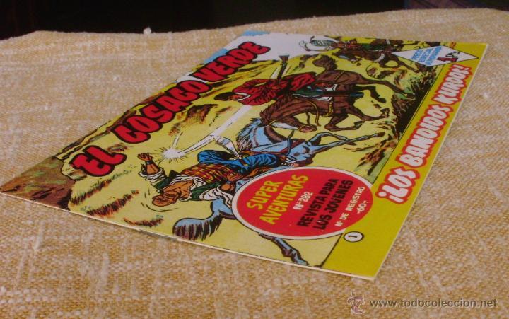Tebeos: El Cosaco Verde, Super Aventuras, Número 282, ¡Los bandidos Kurdos!, año 1960, Editorial Bruguera - Foto 2 - 46985147