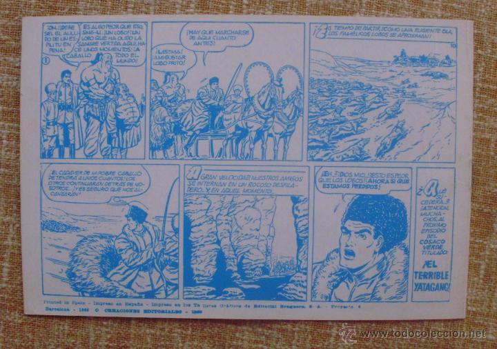 Tebeos: El Cosaco Verde, Super Aventuras, Número 282, ¡Los bandidos Kurdos!, año 1960, Editorial Bruguera - Foto 4 - 46985147