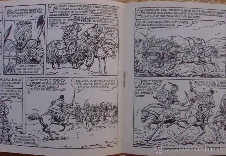 Tebeos: El Cosaco Verde, Super Aventuras, Número 282, ¡Los bandidos Kurdos!, año 1960, Editorial Bruguera - Foto 6 - 46985147