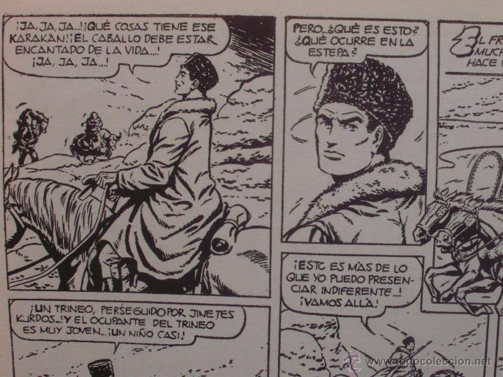 Tebeos: El Cosaco Verde, Super Aventuras, Número 282, ¡Los bandidos Kurdos!, año 1960, Editorial Bruguera - Foto 7 - 46985147