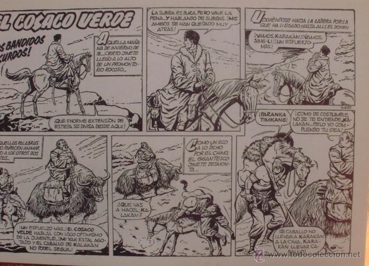 Tebeos: El Cosaco Verde, Super Aventuras, Número 282, ¡Los bandidos Kurdos!, año 1960, Editorial Bruguera - Foto 8 - 46985147