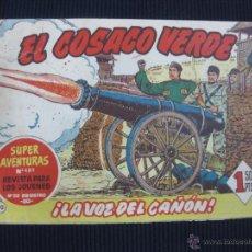 Tebeos: EL COSACO VERDE Nº 70. BRUGUERA. 0RIGINAL.. Lote 47017866