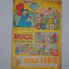 Tebeos: TELE COLOR HUCK HUCKLEBERRY HOUND Nº 132. Lote 47034863