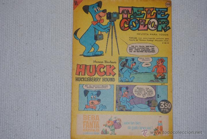 TELE COLOR HUCK HUCKLEBERRY HOUND Nº 108 (Tebeos y Comics - Bruguera - Tele Color)