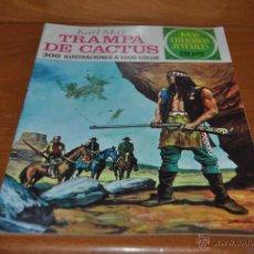 Tebeos: C62 BRUGUERA JOYAS LITERARIAS JUVENILES 1ª EDICION 122 KARL MAY TRAMPA DE CACTUS. Lote 47084723