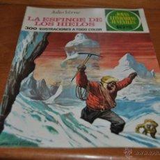 Tebeos: C62 BRUGUERA JOYAS LITERARIAS JUVENILES 1ª EDICION 65 JULIO VERNE LA ESFINGE DE LOS HIELOS. Lote 47084736
