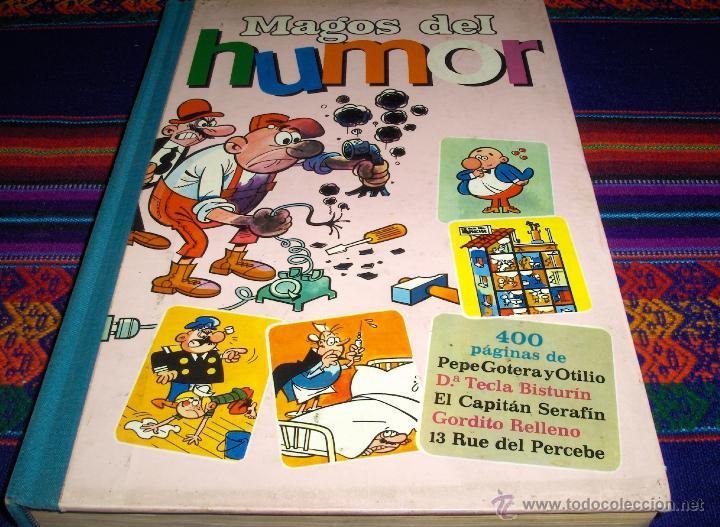 MAGOS DEL HUMOR II 2. BRUGUERA 1971 MBE Y DIFÍCIL REGALO Nº III 3. GORDITO RELLENO CAPITÁN SERAFÍN.. (Tebeos y Comics - Bruguera - Super Humor)