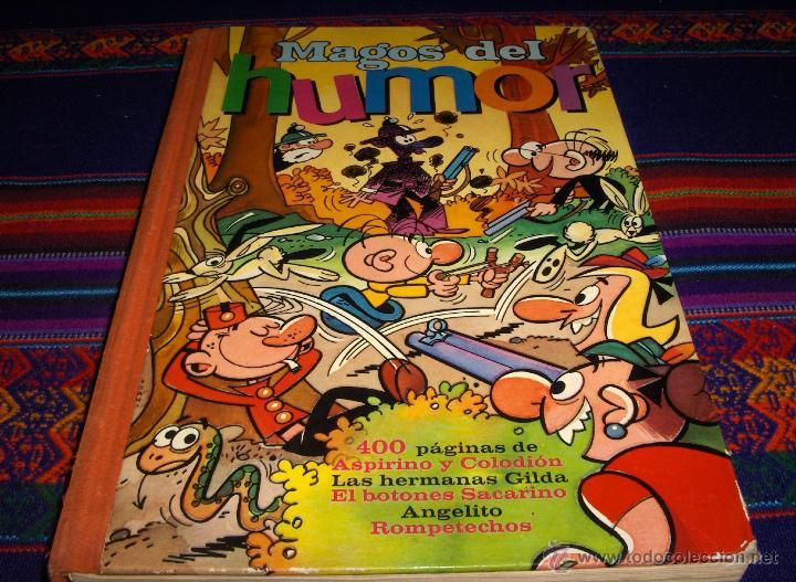 MAGOS DEL HUMOR Nº X 10 BRUGUERA 1972 DIFÍCIL ANGELITO HERMANAS GILDA ASPIRINO COLODIÓN SACARINO.... (Tebeos y Comics - Bruguera - Super Humor)