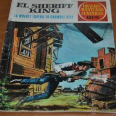 Tebeos: C62 BRUGUERA GRANDES AVENTURAS JUVENILES 16 SHERIFF KING LA MUERTE ESPERA EN CRUMBLE CITY. Lote 161109068