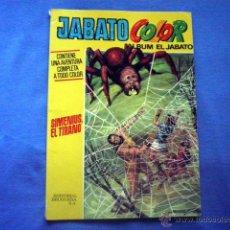 Tebeos: COMIC JABATO COLOR SIMENIUS EL TIRANO Nº 40 VICTOR MORA PRIMERA EPOCA 1973 35 PTAS ED BRUGUERA. Lote 47118867