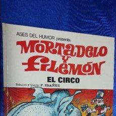 Tebeos: ASES DEL HUMOR N 27 - EL CIRCO - 1ª EDICION 1973 - MORTADELO Y FILEMON - BRUGUERA. Lote 47175028