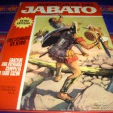 Tebeos: JABATO COLOR EXTRA ALBUM ROJO Nº 5. BRUGUERA 1970. LOS SICARIOS DE KIRO. BUEN ESTADO.. Lote 47182188