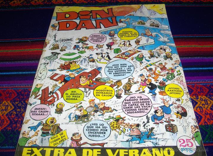DIN DAN EXTRA VERANO 1972. BRUGUERA 25 PTS. (Tebeos y Comics - Bruguera - Din Dan)