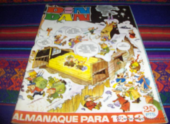 DIN DAN ALMANAQUE 1973. BRUGUERA. 25 PTS. (Tebeos y Comics - Bruguera - Din Dan)