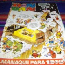 Tebeos: DIN DAN ALMANAQUE 1973. BRUGUERA. 25 PTS.. Lote 47183693