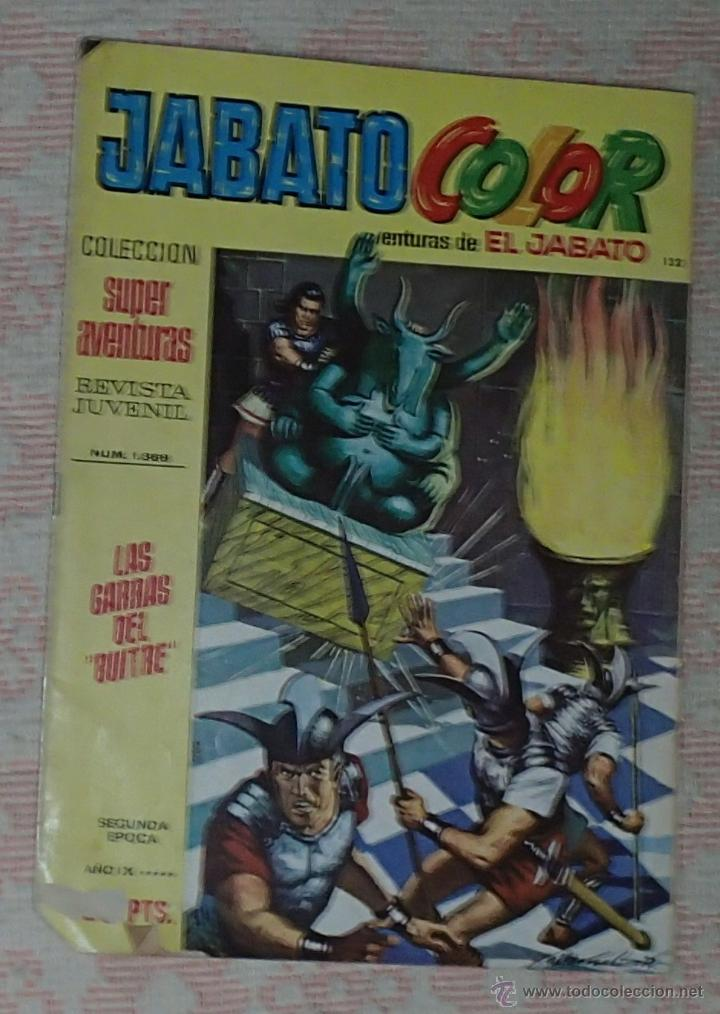 COMIC JABATO COLOR - SEGUNDA EPOCA, Nº 132 (Tebeos y Comics - Bruguera - Jabato)