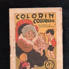 Tebeos: TESORO DE CUENTOS INFANTILES. COLORIN COLORADO... . EDICION EL GATO NEGRO. Lote 47464166