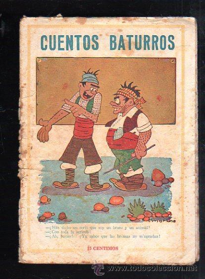 CUENTOS BATURROS. EDITORIAL EL GATO NEGRO, BARCELONA. (Tebeos y Comics - Bruguera - Otros)