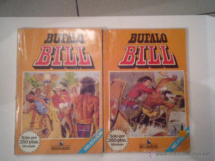 BUFALO BILL - DOS TOMOS - COMPLETA - INCLUYE LAS PORTADAS - CJ 7 - GORBAUD (Tebeos y Comics - Bruguera - Historias Selección)