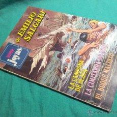 Tebeos: SUPER JOYAS - Nº 37 - EMILIO SALGARI - EDITORIAL BRUGUERA - AÑO 1980. Lote 47532463