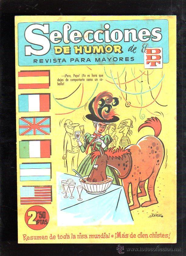 SELECCIONES DE HUMOR DEL DDT. SUPLEMENTO DE EL DDT. Nº 79. EDITORIAL BRUGUERA (Tebeos y Comics - Bruguera - DDT)
