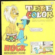 Tebeos: TELE COLOR. AÑO I Nº 10. HUCK HUCKLEBERRY HOUND. 18 MARZO 1963. EDITORIAL BRUGUERA. Lote 47547701