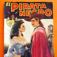 Tebeos: EL PIRATA NEGRO - Nº 51 - EL CHACAL - POR ARNALDO VISCONTI - EDITORIAL BRUGUERA -. Lote 47553804