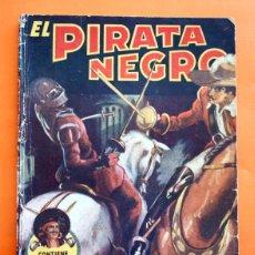 Tebeos: EL PIRATA NEGRO - Nº 42 - ODISEA EN ITALIA - POR ARNALDO VISCONTI - EDITORIAL BRUGUERA -. Lote 47554000