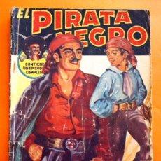 Tebeos: EL PIRATA NEGRO - Nº 21 - ESCLAVITUD Y RESCATE - POR ARNALDO VISCONTI - EDITORIAL BRUGUERA -. Lote 47554155