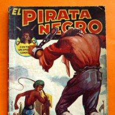 Tebeos: EL PIRATA NEGRO - Nº 45 - TRES AMORES - POR ARNALDO VISCONTI - EDITORIAL BRUGUERA -. Lote 47554907