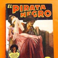 Tebeos: EL PIRATA NEGRO - Nº 55 - TRES TROTAMUNDOS - POR ARNALDO VISCONTI - EDITORIAL BRUGUERA -. Lote 47564585