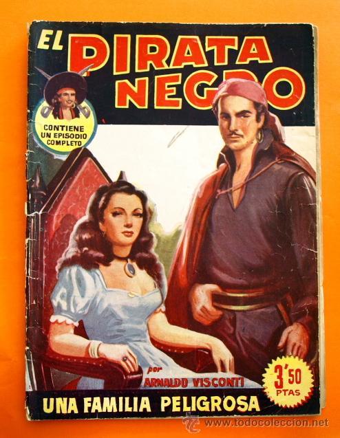 EL PIRATA NEGRO - Nº 71 - UNA FAMILIA PELIGROSA - POR ARNALDO VISCONTI - EDITORIAL BRUGUERA - (Tebeos y Comics - Bruguera - Otros)