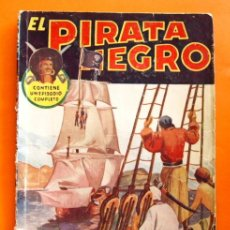 Tebeos: EL PIRATA NEGRO - Nº 73 - CARA O CRUZ - POR ARNALDO VISCONTI - EDITORIAL BRUGUERA -. Lote 47564870
