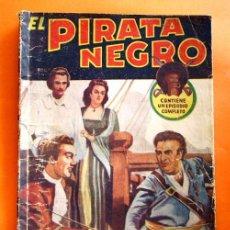 Tebeos: EL PIRATA NEGRO - Nº 80 - EL BRUJO DEL MAR - POR ARNALDO VISCONTI - EDITORIAL BRUGUERA -. Lote 47564901