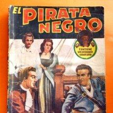 Tebeos: EL PIRATA NEGRO - Nº 80 - EL BRUJO DEL MAR - POR ARNALDO VISCONTI - EDITORIAL BRUGUERA -. Lote 47564922