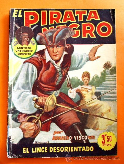 EL PIRATA NEGRO - Nº 81 - EL LINCE DESORIENTADO - POR ARNALDO VISCONTI - EDITORIAL BRUGUERA - (Tebeos y Comics - Bruguera - Otros)