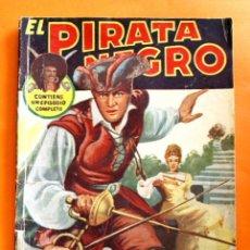 Tebeos: EL PIRATA NEGRO - Nº 81 - EL LINCE DESORIENTADO - POR ARNALDO VISCONTI - EDITORIAL BRUGUERA -. Lote 47564959