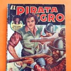 Tebeos: EL PIRATA NEGRO - Nº 82 - LOS MONTAÑEROS - POR ARNALDO VISCONTI - EDITORIAL BRUGUERA -. Lote 47565061