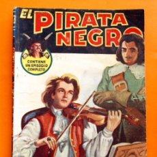 Tebeos: EL PIRATA NEGRO - Nº 54 - UN VIOLIN EN LA TORMENTA - POR ARNALDO VISCONTI - EDITORIAL BRUGUERA -. Lote 47566570
