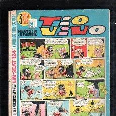 Tebeos: REVISTA JUVENIL. TIO VIVO. AÑO XIII. Nº 494. EDITORIAL BRUGUERA. Lote 47601663