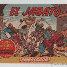 Tebeos: EL JABATO Nº198 - BRUGUERA.. Lote 47602119