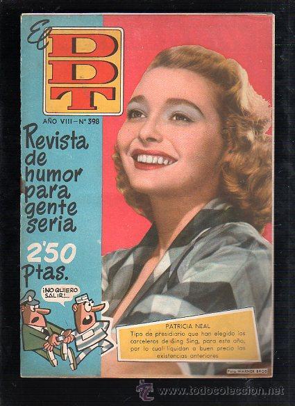 REVISTA EL DDT. Nº 398. AÑO VIII. EDITORIAL BRUGUERA (Tebeos y Comics - Bruguera - DDT)