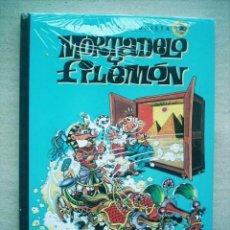 Tebeos: MORTADELO Nº 1 EDICION COLECCIONISTA / SALVAT CON CUADERNILLO PROMOCIONAL. Lote 47607179