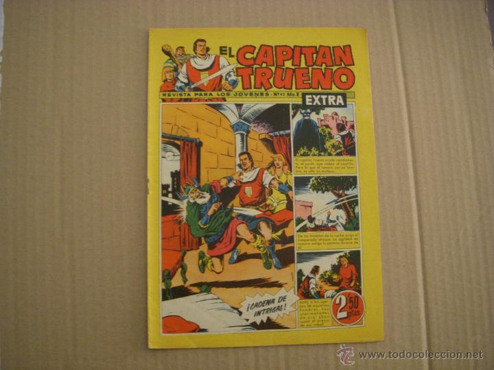 EL CAPITÁN TRUENO EXTRA Nº 42, EDITORIAL BRUGUERA (Tebeos y Comics - Bruguera - Capitán Trueno)